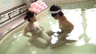 For detail coitus video between sexy Rina Yoshiguchi and a lucky guy