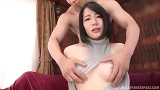 oiled and horny Asian Suzumura Airi adores hard sex until both cum
