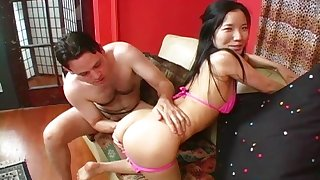Undressing his babe Almond to drain her soaking wet pussy