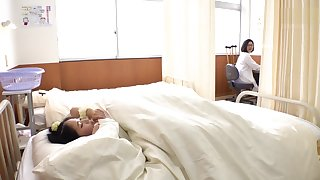 Have sex obscuration under blanket in medical room- School Perpetual