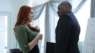 Edyn Blair does anything possible round seduce and fuck her married boss