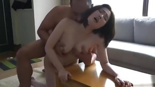 Japanese Mom Cheating to the fullest breastfeeding